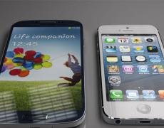 Samsung Galaxy S4 vs. iPhone