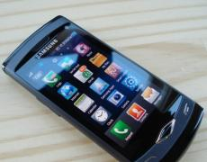 Samsung S8500 Wave Touchhandy mit